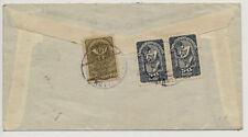 Echtheitsgarantie Briefmarken (1918-1944) mit Mehrfachfrankatur österreichische