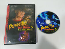 PESADILLA EN ELM STREET 5 THE DREAM CHILD DVD + EXTRAS ESPAÑOL ENGLISH TERROR
