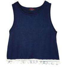 T-shirts, hauts et chemises débardeur bleu pour fille de 3 à 4 ans