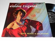 SAVA NEAGU NM- Violins Gypsy Tziganes France RCA Victor 430.116 et ses virtuoses