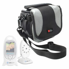 Portable Camera Case With Shoulder Strap for Sunluxy Baby Monitors