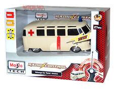Maisto Tech RC VW Bus Ambulanz Van ferngesteuert Bully Rotes Kreuz DRK 1:24