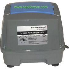 BLUE DIAMOND ET80 Septic Air Pump COMPATIBLE TO HIBLOW HP 80