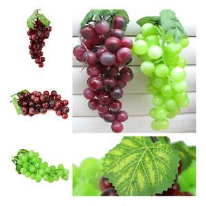 2Set Künstliche Trauben Deko Weintrauben Traube Kunstobst künstliches ObstCH
