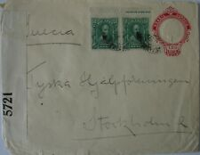 Brazil, Argentina: WW1 Censored Envelopes.