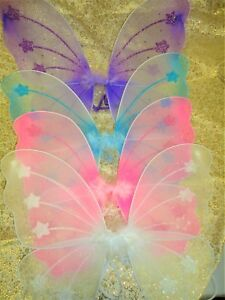 """1 piece Fairy Angel Butterfly Wings Toddler Child Costume TOY GIFT HW-11; 12"""""""