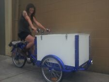 Icicle Tricycle Ice Cream Bike Dark Blue