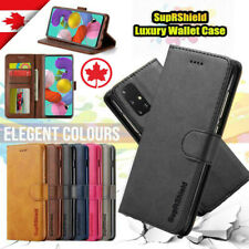 For Samsung Galaxy A71 A51 A31 A20s Genuine Leather Wallet Flip Case 360 Cover