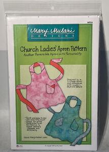 Mary Mulari church ladies apron pattern