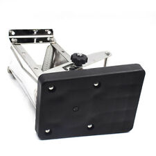 Hot Sale Heavy Duty Stainless Steel Black Outboard Motor Bracket Up to 25HP New