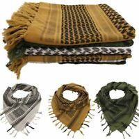 Military Keffiyeh Desert Scarf Army Shawl Neck Cover Head Wrap Airsoft Hunting