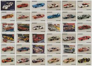 1991 Motorsports Modelcards Nascar Racing 90 Card Set