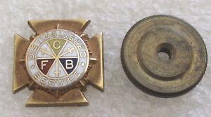 Vintage Knights of Pythias Distinguished Service Award Lapel Pin - K of P