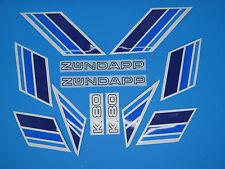 Zündapp OVP Design  Aufkleber Verkleidung Dekore Hai 50 rot//blau 448-111.135