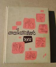 1957 Anaheim High School Yearbook Anaheim CA California
