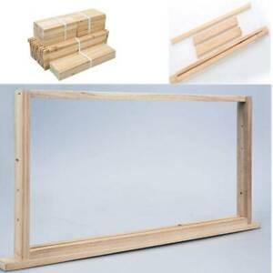 20 x Full Depth Unassembled Beekeeping Frames Deep Bee Frame Timber Wood Beehive