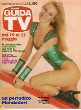 rivista NUOVA GUIDA TV ANNO 1985 NUMERO 20 LEE ANN LOOMIS