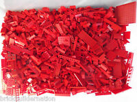 ☀LEGO 100+ RED MIX OF PARTS PIECES HUGE BULK LOT RANDOM LEGOS LB