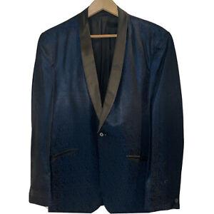 Vintage Clothing Smoking Jacket Psychedelic Jacket Men/'s Clothing 1950s60s Tuxedo Jacket
