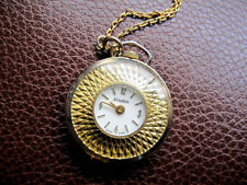 Watch Nurses Watch Necklace Vintage Nordam Swiss Made Pendant