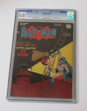Batman #46 CGC 5.0 Golden age JOKER Cover story DC Comics May 1948