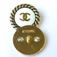 1One Vintage Stamped Chanel Buttons 1 pcs  😍😘👍23 mm