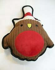 Christmas Character Soft Dog Toy With Squeak 6 Variations To Choose From