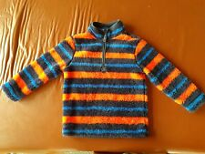 Boys Striped Fleece Age 5-6 Years From M&Co