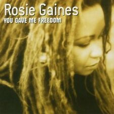 ROSIE GAINES - YOU GAVE ME FREEDOM  CD NEU