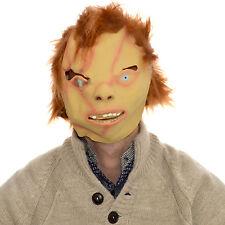 Latex Full Head Overhead Horror Scary Chuckie Movie Cosplay Halloween Mask