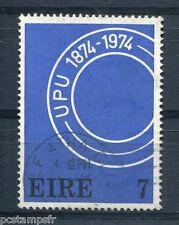 IRLANDE - 1974, timbre 312, Centenaire UPU, oblitéré