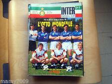 INTER FOOTBALL CLUB=N°5 1990=INTER MONDIALE=MAZZOLA-BERTI=MALGIOGLIO