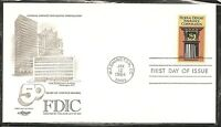US SC #2071 Federal Deposits Ins Corp FDC. Artmaster Cachet