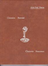 Chansons bessonnes, Chanssou Bessune Abbé Paul PINTON Forez