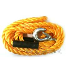 Tow rope Emergency 2 Tonne 3.5m Long Car Towing Woven Breakdown Road Recovery