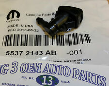 15-16 Jeep Grand Cherokee 11-14 Dodge Grand Caravan Windshield Washer Nozzle OEM