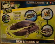 Ben 10 Ten Ben's Mark 10 Vehicle Car Cruiser Figure kevin Action Green