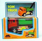 OLD ORIGINAL 1970's Battery Operated Tow Truck