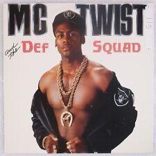 "MC TWIST & DEF SQUAD: Just Rock 12"" Luke Sywalker Rap Hip Hop Promo NM- MP3"