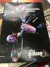 Gibson 1975 Mandolin Series Catalog