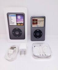 Apple iPod classic 7th Gen gray- (160 GB)   bundle