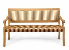 A GRD TEAK 5 FEET SEATING OUTDOOR INDOOR PATIO FURNITURE POOL GARDEN BENCH GIVA