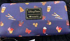 Disney Loungefly Snacks Wallet Mickey Mouse Snack Treats Ears Food New In Hand