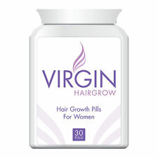 VIRGIN FOR WOMEN HAIR LOSS PILLS TABLET THICKER FULLER HEAD OF HAIR GUARANTEED