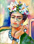 Frida Kahlo Portrait Original Abstract Oil Painting on canvas Fauvism Wall Art