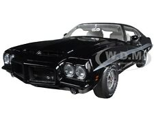1972 PONTIAC GTO LEMANS STARLIGHT BLACK VINYL TOP L.E. 252 1/18 ACME A1801205 VT