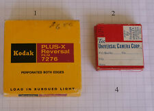 Movie Film for 16mm 8mm Movie Cameras Black & White in Canisters Expired 004