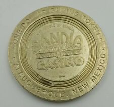 Casino $1 Gaming Token Pueblo of Sandia Albuquerque New Mexico Ram