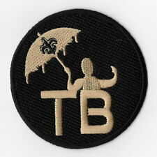 New Orleans Saints Tom Benson TB 2018 Iron on Patches Embroidered Patch FN