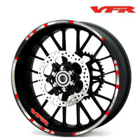 Motorcycle Wheel Tire Rim Stickers 17inch wheel For Honda VFR 12PCS/ set #P